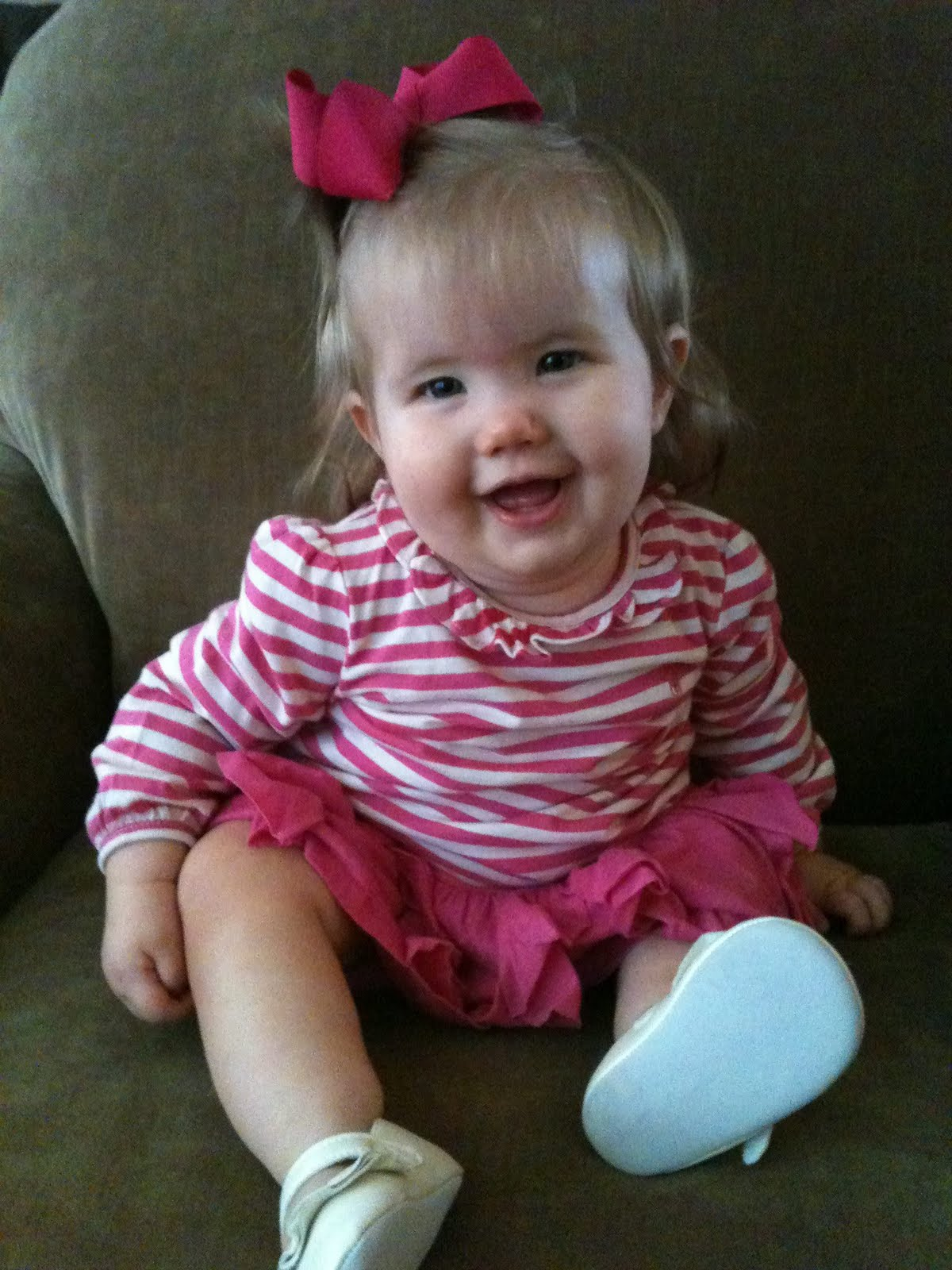 life in a nutshell: happy 9 months sweet baby girl!