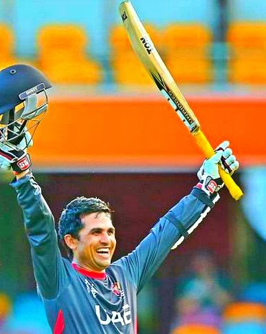 UAE cricketer Shaiman Anwar image