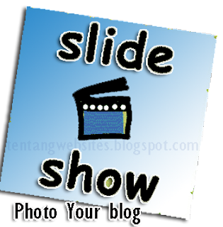 membuat photo slideshow diblog