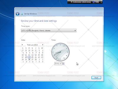 cara mengatur timezon pada laptop