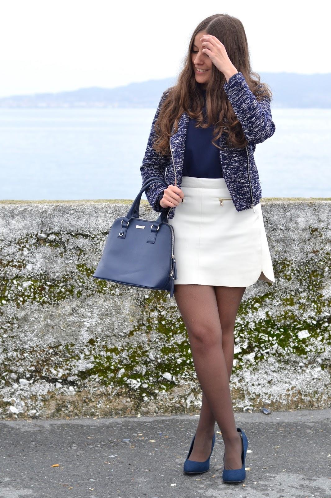 pimkie jacket, blue