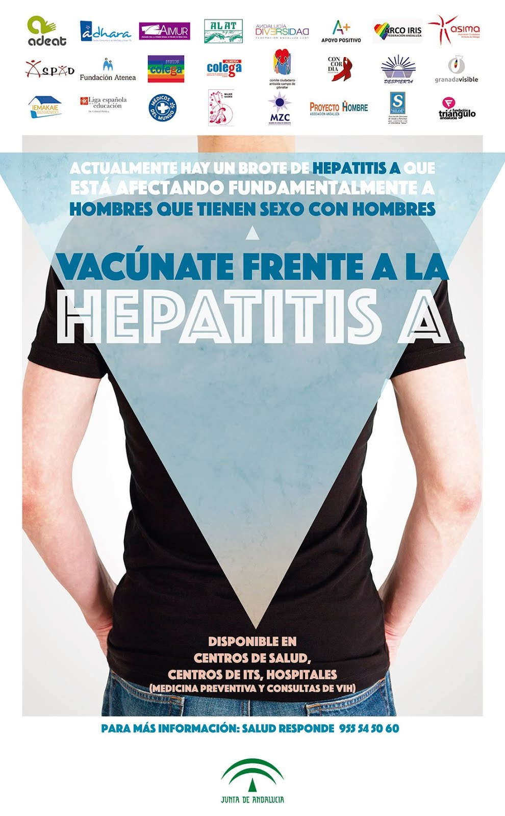 ¡Vacúnate frente a la Hepatitis A!