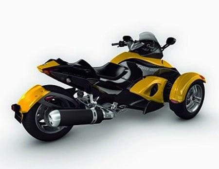 gambar motor modif futuristik