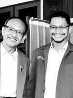 Walikota Herry Zudianto Mendukung Hanafi Rais, dalam Ikang Fawzi dan Marissa Haque