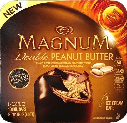... Scoop: Ice Cream Reviews: Magnum Double Peanut Butter Ice Cream Bars