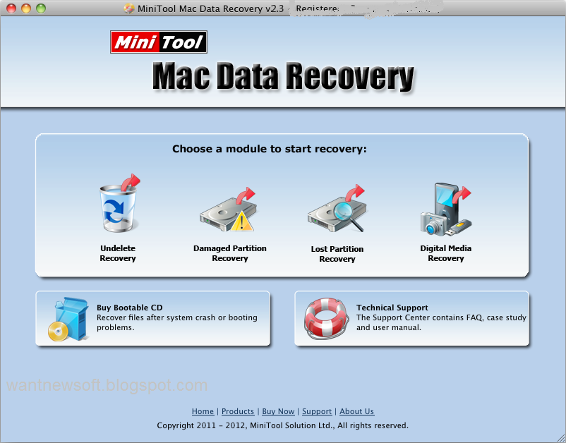 MiniTool Mac Data Recovery personal license image