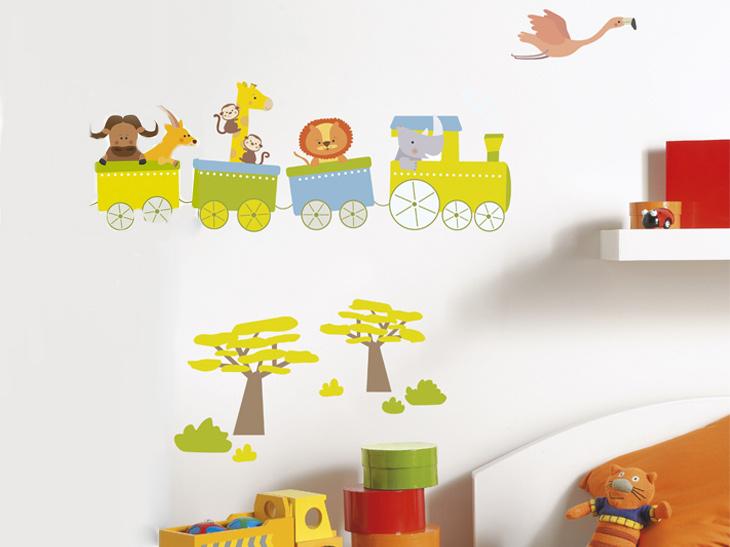 Decorar la habitaci n de los ni os con pegatinas para for Pegatinas habitacion infantil