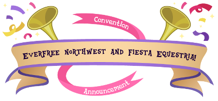 Convention announcement: Everfree Northwest and Fiesta Equestria!