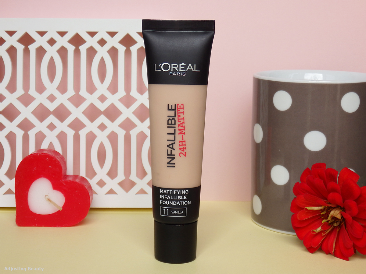 Review Loreal Infallible 24h Matte Foundation 11 Vanilla Pro 24hr Choosing The Right Shade Only Based On Swatches Internet Its A Whole Other Story I Decided To Go For Not Knowing That They Also Have