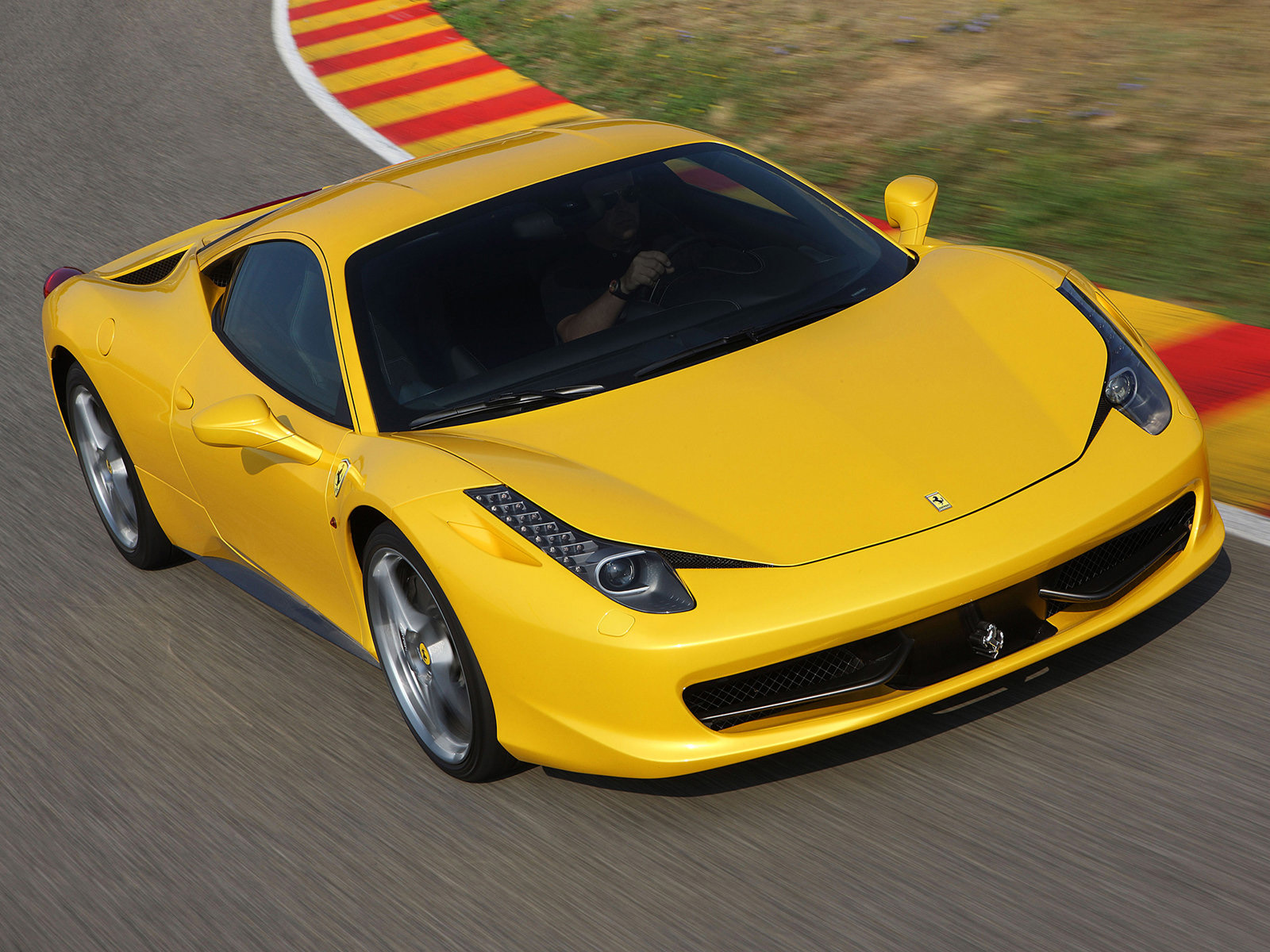 Club 4 Buzz Yellow Ferrari