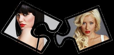 Jessie J & Christina Aguilera