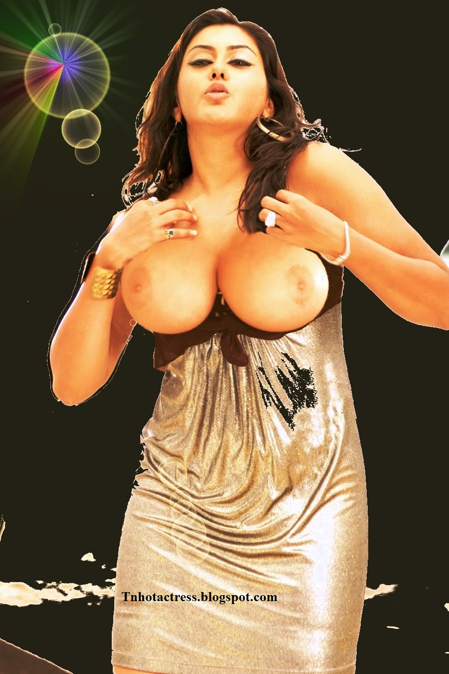 Namitha big boobs show
