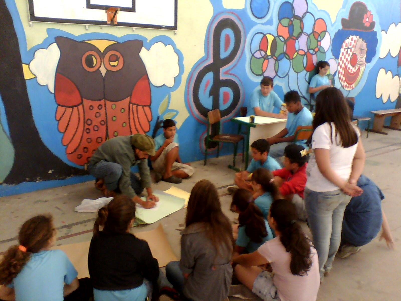 Top Pátios Ecológicos - Um Programa de Educação Ambiental nas Escolas  EV57
