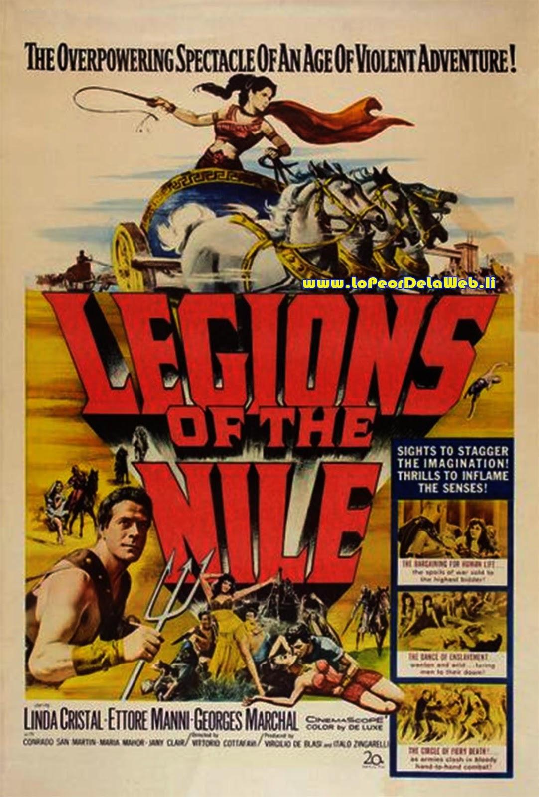 Las Legiones de Cleopatra (1959 / Linda Cristal / Español)
