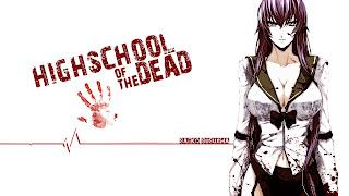 Saeko Busujima Highschool of the Dead HOTD Sexy Girl Cleavage Anime HD Wallpaper Desktop PC Background 1647
