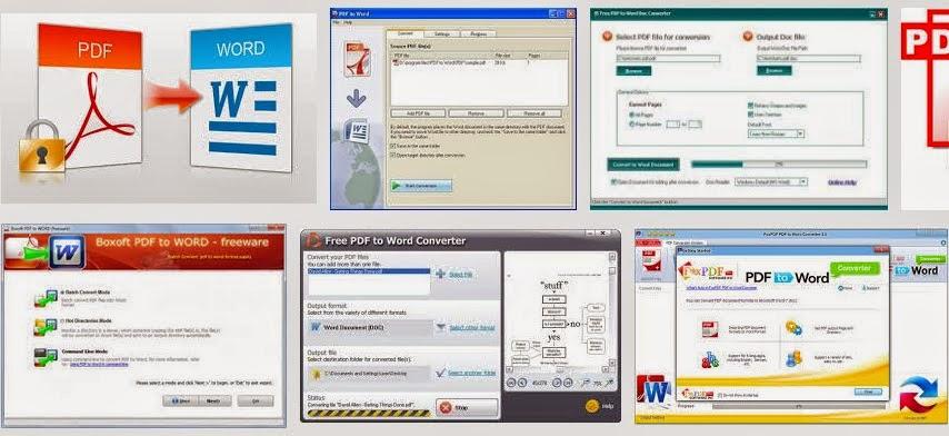 Convert pdf to word online free 100% - PDF Converter