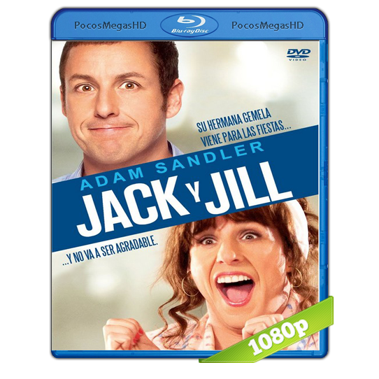Jack y Jill (2011) BRRip 1080p Audio Dual Latino/Ingles 5.1