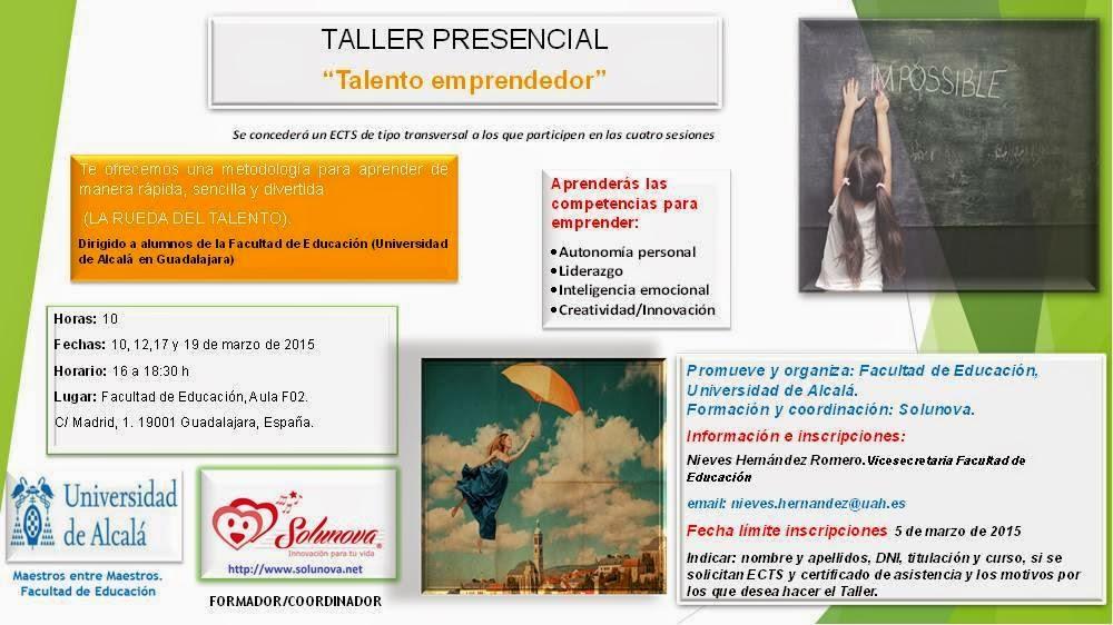 Taller #Talento Emprendedor