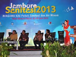 Dirjen Cipta Karya Berikan Semangat Kepada Para Duta Sanitasi 2013