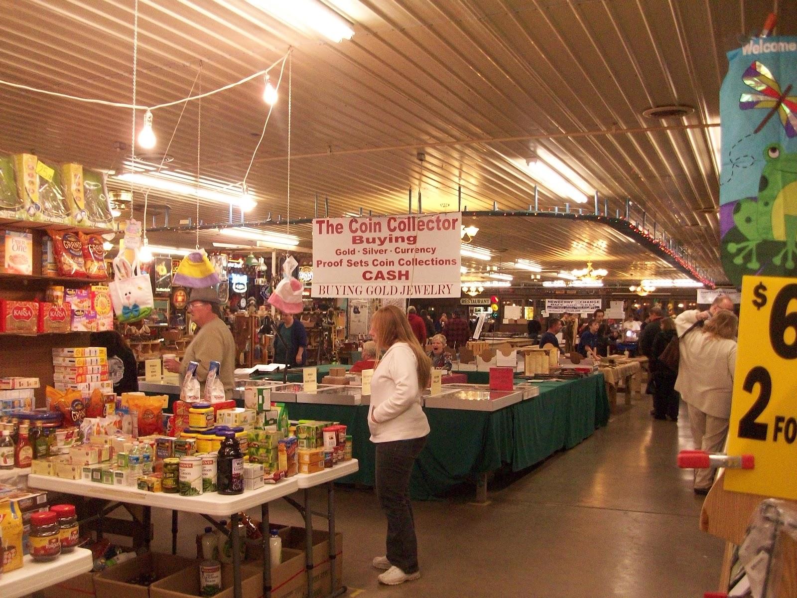 my life in milton: flea market