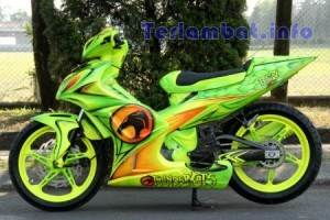 Modifikasi Air Brush Jupiter MX 2013