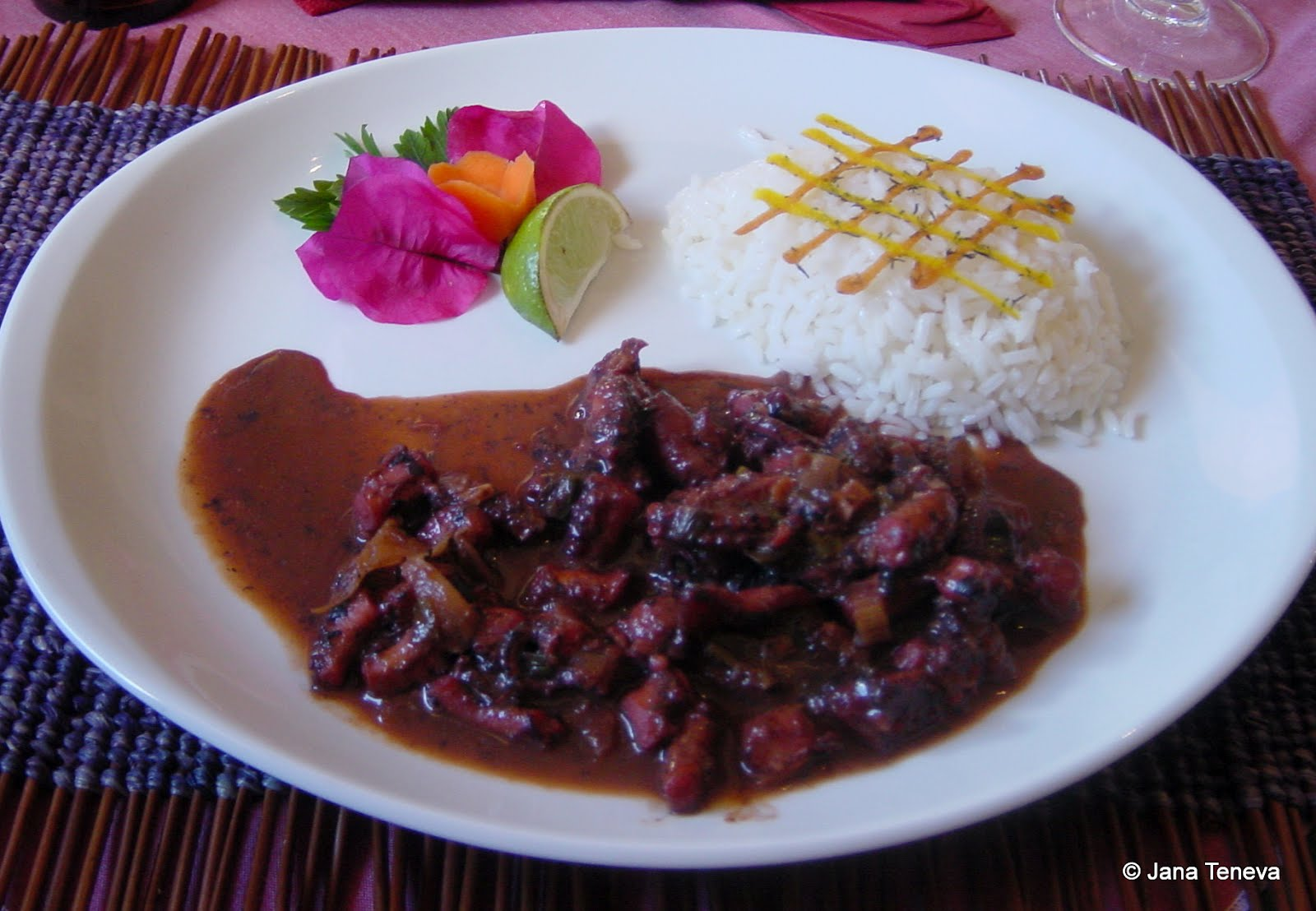 Jana around the world the french caribbean cuisine la - French creole cuisine ...