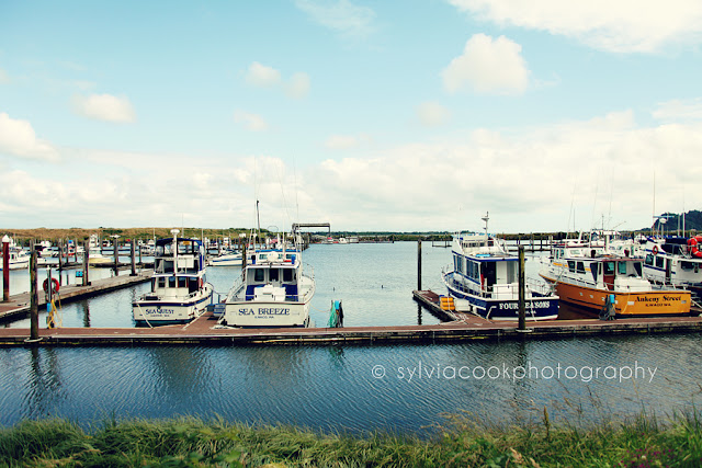 Ilwaco Washington fishing boats