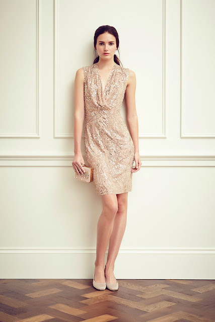 Light, embellished occasion wear perfect for balmy evenings