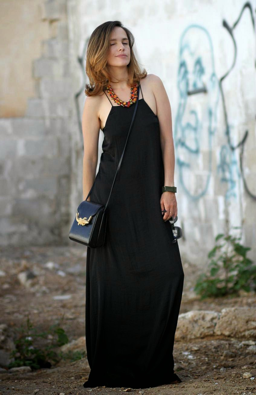 blackdress, cammi, fashionblog, ss14, streetstyle, summerdress, wardrobe, zara, zarapeople, אופנה, בלוגאופנה