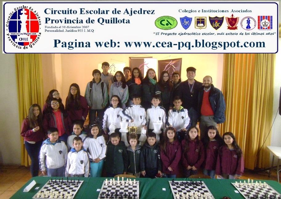 Circuito Escolar de Ajedrez Provincia de Quillota
