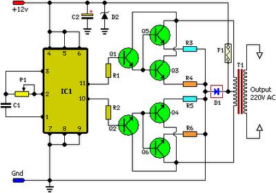 100w inverter circuit diagram the circuit rh easycircuit012 blogspot com simple 100 watt inverter circuit diagram 100 watt pure sine wave inverter circuit diagram