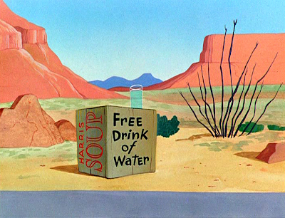 Looney tunes desert background - photo#3