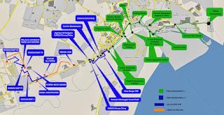 Peta Laluan Berbasikal Bandar Kuantan, Pahang