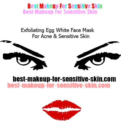 two facial masks for sensitive skin