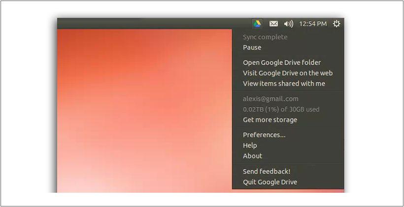 client ufficiale di Google Drive in Ubuntu