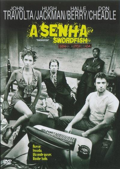 Filme A Senha : Swordfish Dublado AVI BDRip