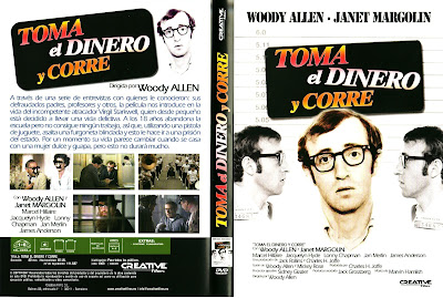 Toma el dinero y corre | 1969 | Take the Money and Run : Caratula, cover, dvd