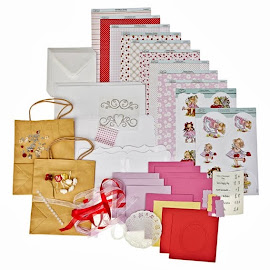 Hazel's card kit candy