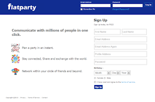 Social networking site Flatparty launches in India