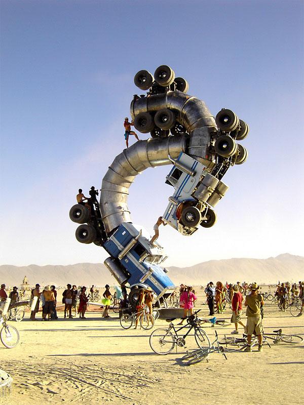 Burning Man: Woman struck and killed by bus at Nevada