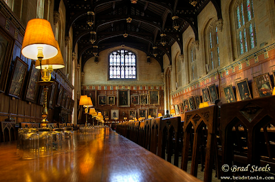 Sala Grande di Hogwarts, Christ Church di Oxford