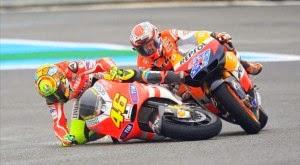 Rossi y Stoner en Jerez