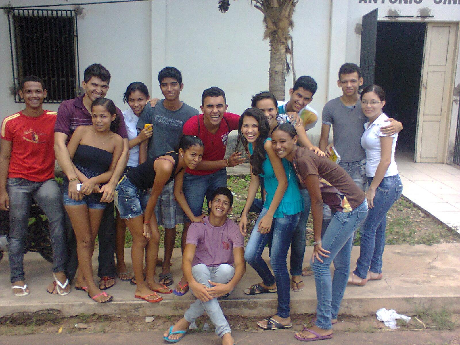 com o Grupo JOC (Juventude Operária Cristã) de Bom Jardim  MA