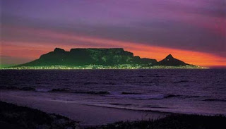 Table Mountain, Cape Town, Sydafrika