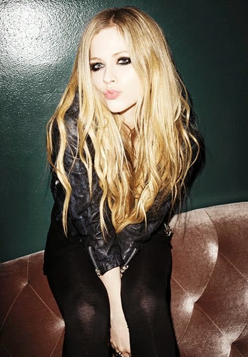 Avril Lavigne: Nylon Magazine 2013