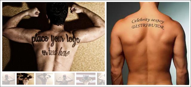 Los hombres también se anuncian y venden en esta categoría: mensaje en la piel