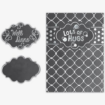Spellbinders Interchangeable Embossing Folder Chicken Wire SBIF-006