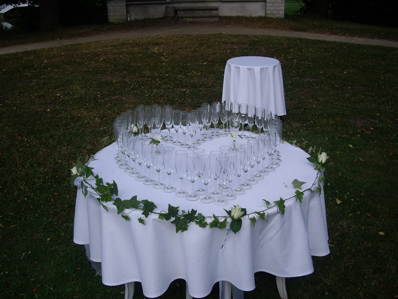 Champagne Table Decorations Ideas Floral Design