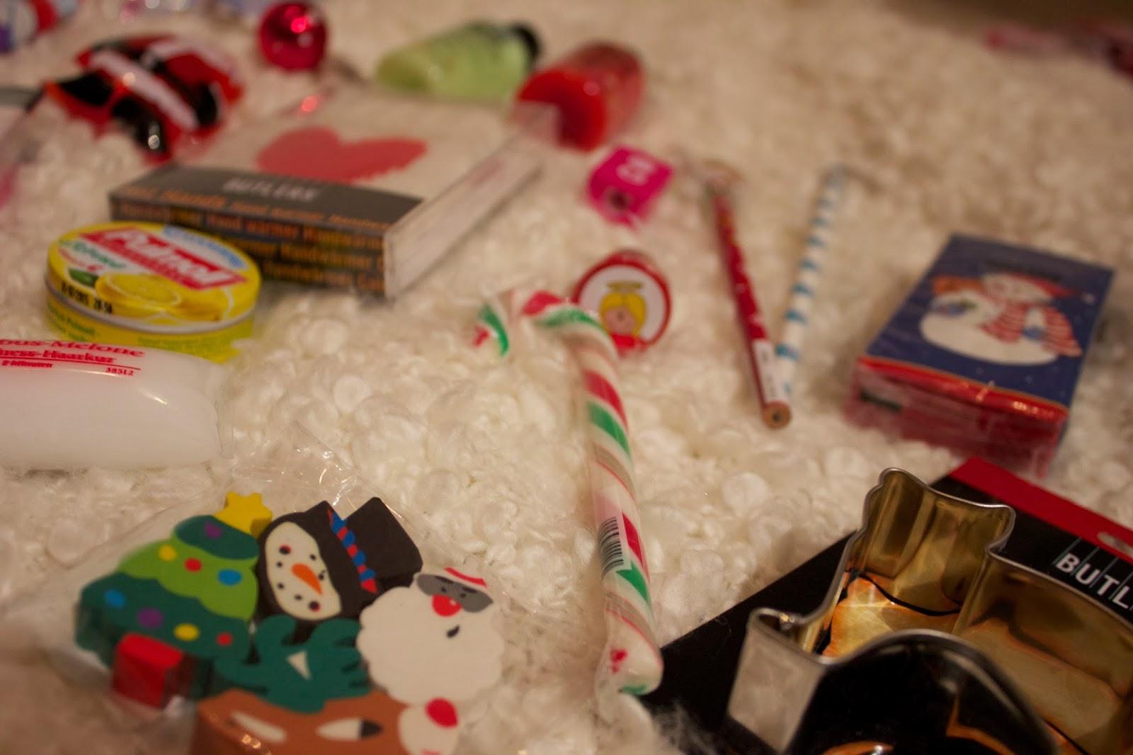 Kusselina adventskalender serie f r die beste freundin teil 2 gekaufte geschenke - Nanu nana weihnachten ...