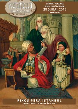 28 Şubat Osmanlı ve Karma Sanat Eserleri Müzayedesi - Rumeli Müzayede